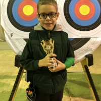 Junior Recurve Highest Score - Harvey